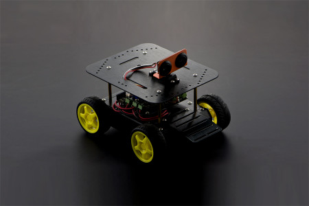 4WD Arduino Mobile Robot Kit with Bluetooth 4.0 [ROB0022]
