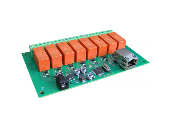 Ethernet Controlled 8 Channel Relay 16A[DFR0146]