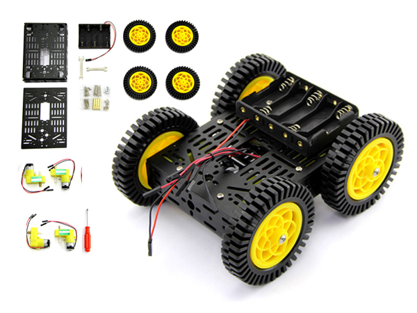 4륜 구동 멀티 로봇 키트 Multi Chassis-4WD Robot Kit (ATV version) [NT110990087]