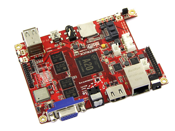 Cubietruck Kit - Dual Core Single-board Computer [NT102990033]
