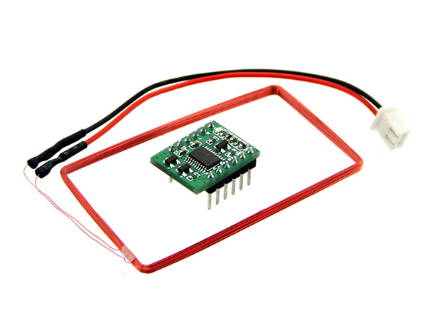 Mini 125Khz RFID Module - External LED/Buzzer Port (70mm Reading Distance) [800124001]
