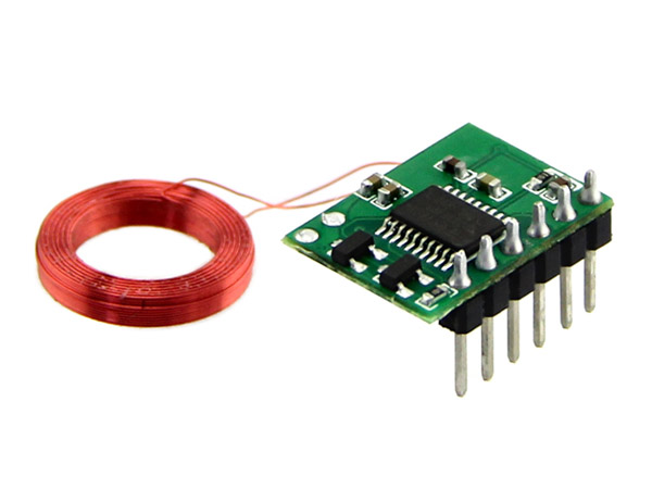 Mini 125Khz RFID Module - Pre-Soldered Aenna (35mm Reading Distance) [113990042]