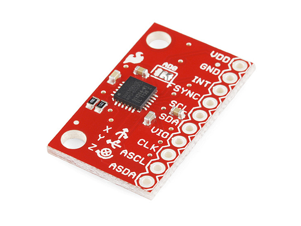 Triple Axis Accelerometer and Gyro Breakout - MPU-6050 [SEN-11028]