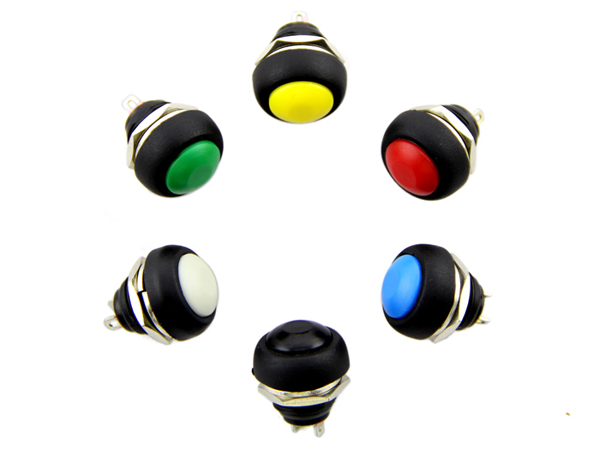 12mm Domed Push Button Pack [NT110990055]