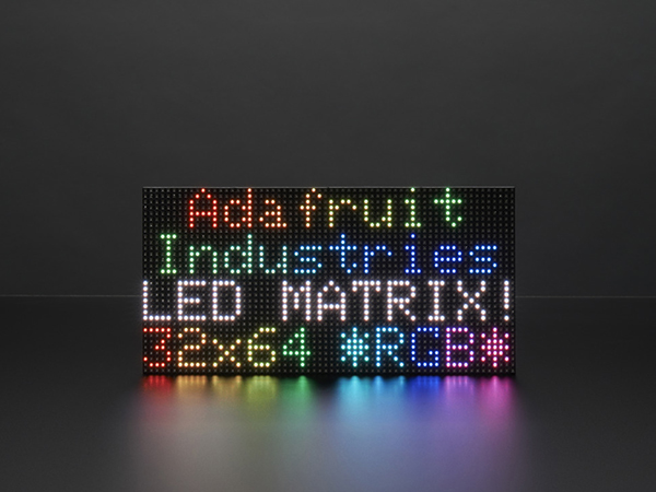 64x32 RGB LED Matrix - 4mm pitch [ada-2278]