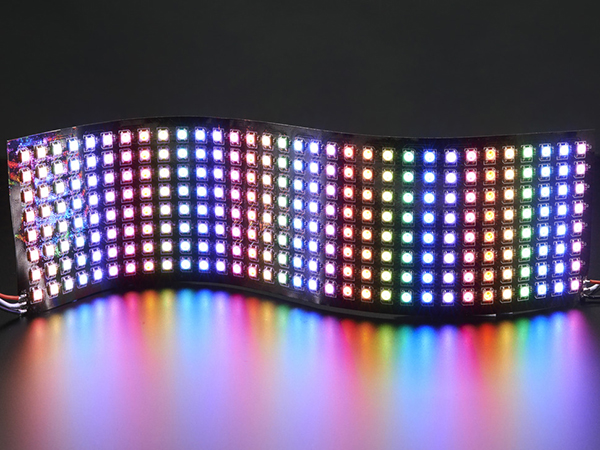 Flexible 8x32 NeoPixel RGB LED Matrix [ada-2294]