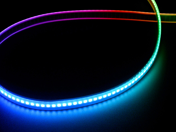 Adafruit DotStar Digital LED Strip - Black 144 LED/m - One Meter - BLACK [ada-2241]