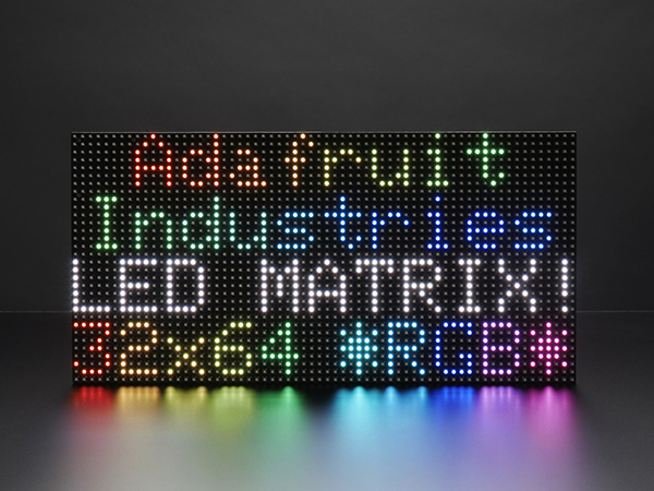 64x32 RGB LED Matrix - 6mm pitch [ada-2276]