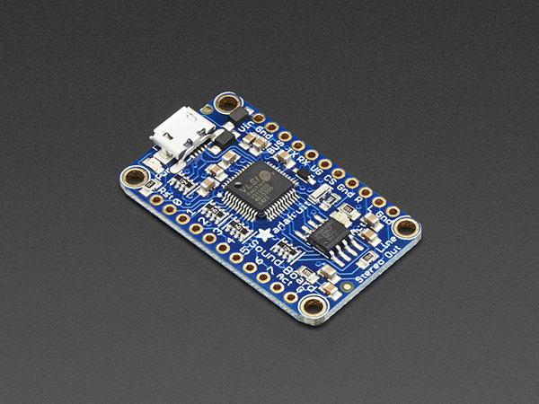 Adafruit Audio FX Mini Sound Board - WAV/OGG Trigger - 2MB Flash [ada-2342]