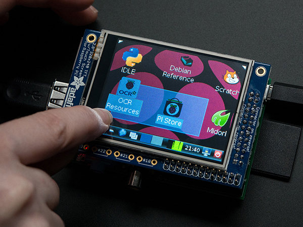 PiTFT - Assembled 320x240 2.8' TFT+Touchscreen for Raspberry Pi [ada-1601]