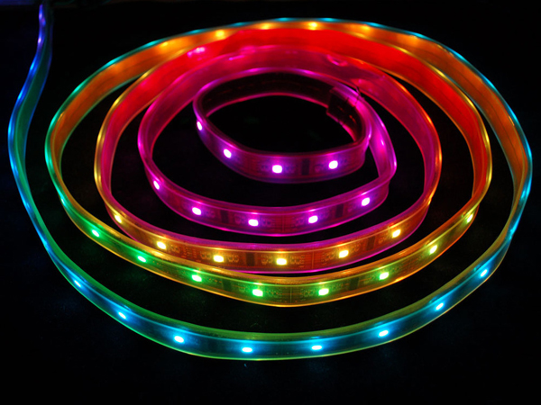 Digital RGB LED Weatherproof Strip - LPD8806 32 LED [ada-306]
