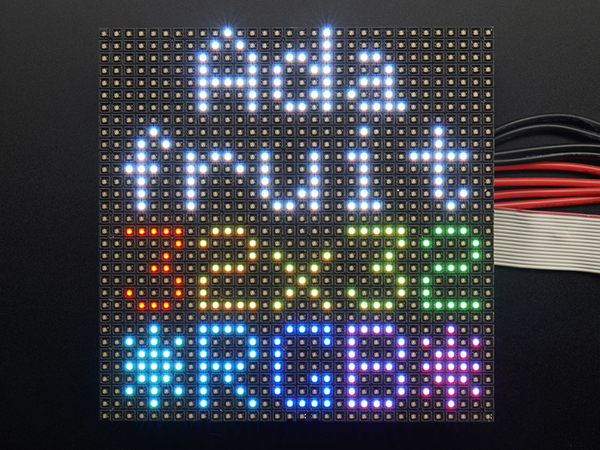 32x32 RGB LED Matrix Panel - 4mm Pitch [ada-607]