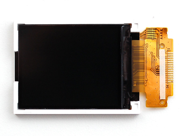 1.8' SPI TFT display, 160x128 18-bit color - ST7735R driver [ada-618]