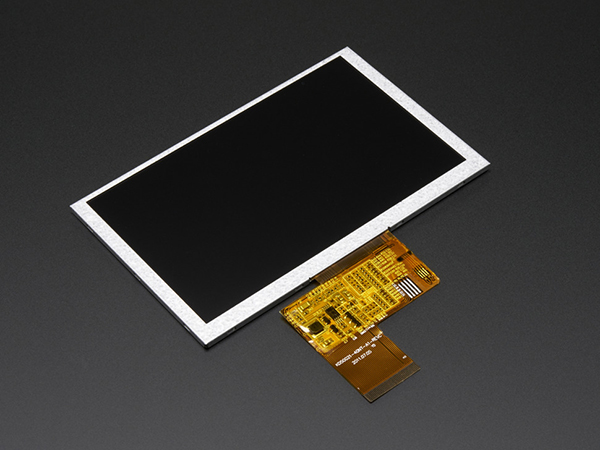 5.0' 40-pin 800x480 TFT Display without Touchscreen [ada-1680]