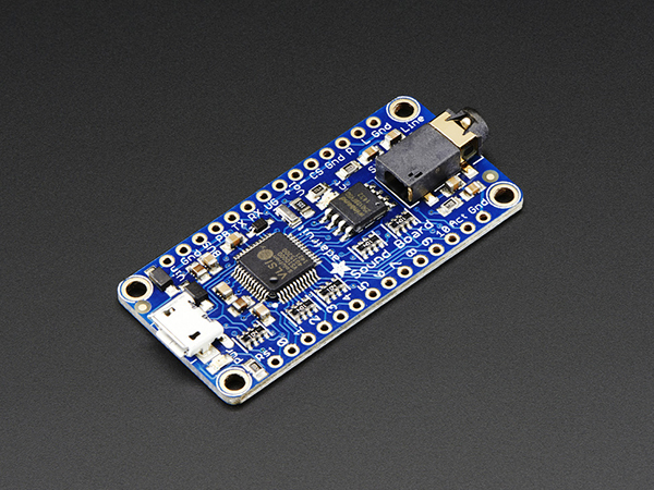 Adafruit Audio FX Sound Board - WAV/OGG Trigger with 16MB Flash [ada-2220]