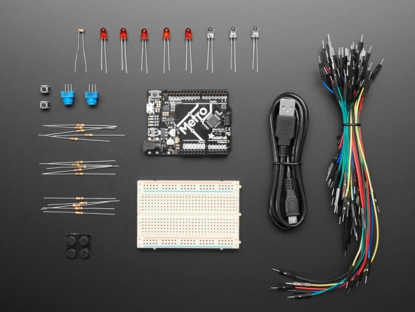 Budget Pack for Metro 328 - with Assembled Metro ATmega328P [ada-193]