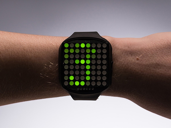 TIMESQUARE DIY Watch Kit - Lime Display Matrix [ada-1224]