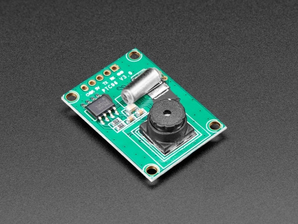 Miniature TTL Serial JPEG Camera with NTSC Video [ada-1386]