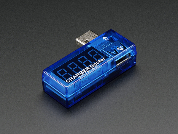 USB Charger Doctor - In-line Voltage and Current Meter [ada-1852]
