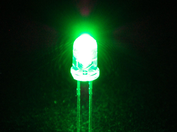 Super Bright Green 5mm LED (25 pack) [ada-300]