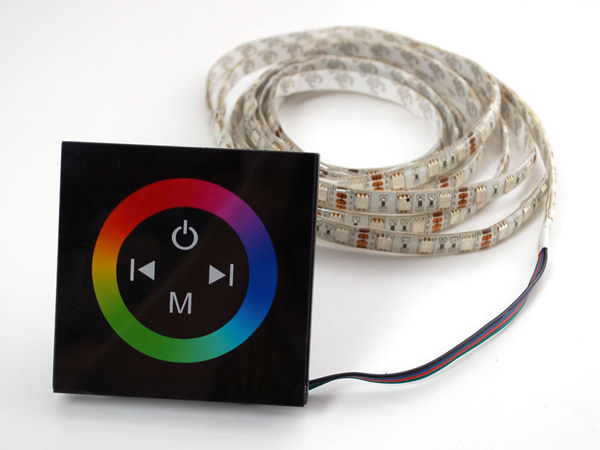 Touch Wheel Controller for Analog RGB LED Strips [ada-1005]