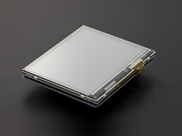 3.5' TFT Resistive Touch Shield with 4MB Flash for Arduino and mbed [DFR0348]