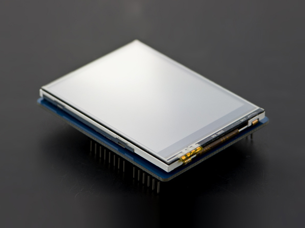 2.8' TFT Touch Shield with 4MB Flash for Arduino and mbed [DFR0347]