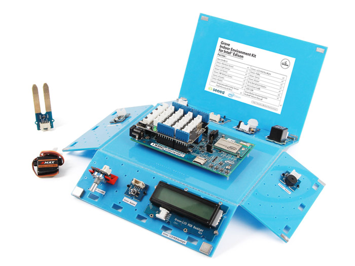 Grove Indoor Environment Kit for Intel® Edison [NT110060064]
