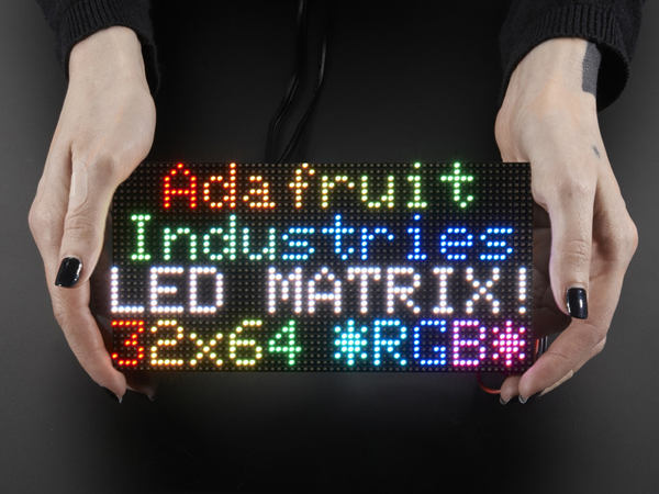 64x32 RGB LED Matrix - 3mm pitch [ada-2279]