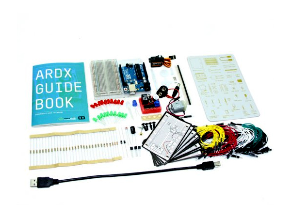 ARDX - The starter kit for Arduino [NT110060004]