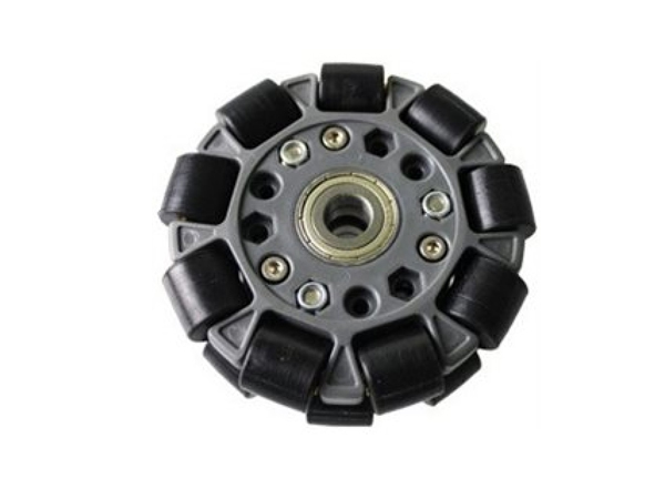 100mm Double Plastic Omni Wheel w/central bearing [NX-14060]