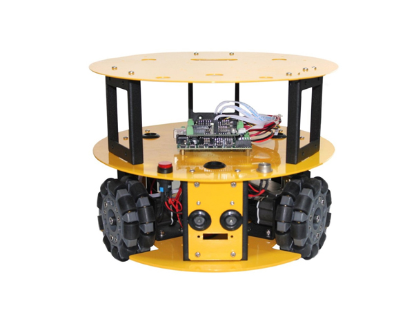 100mm omni wheel mobile robot kit [NX-10013]