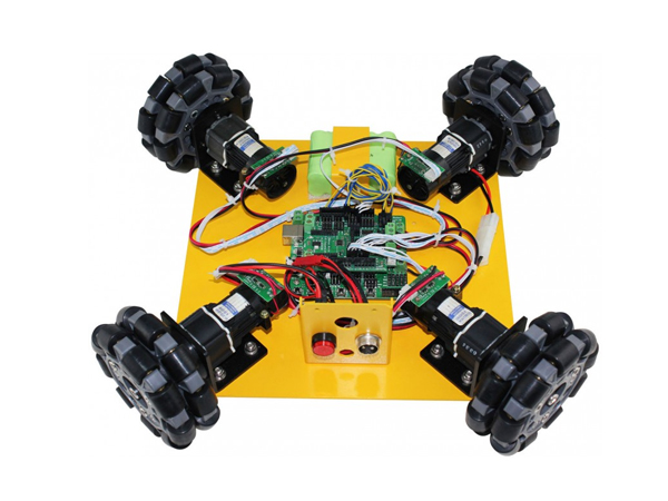 4WD Omni-Directional Arduino Compatible Mobile Robot Kit [NX-10008]