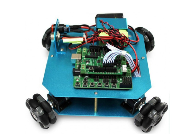 4WD 58mm Omni Wheel Arduino Robot Kit [NX-10020]