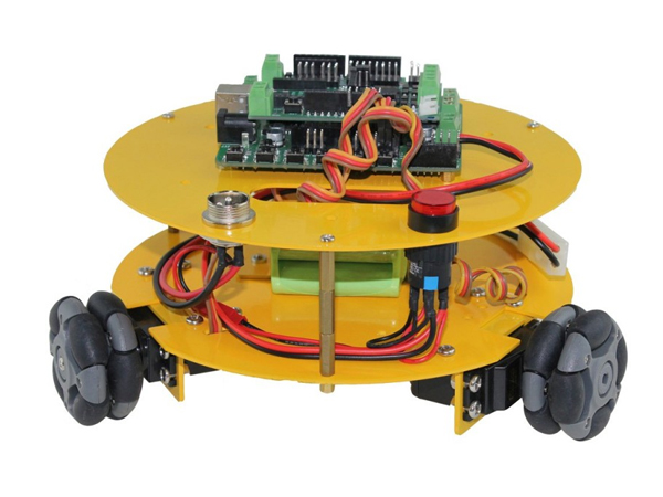 3WD 48mm Omni wheel mobile robot kit [NX-10014]