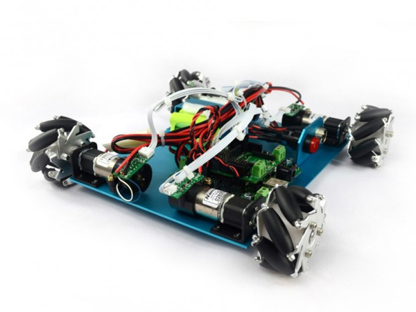 4WD 60mm Mecanum Wheel Arduino Robot Kit [NX-10021]