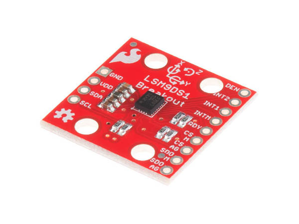 SparkFun 9 Degrees of Freedom IMU Breakout - LSM9DS1 [SEN-13284]