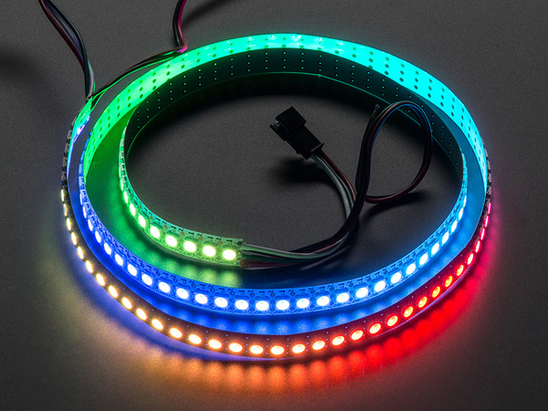 Adafruit NeoPixel Digital RGB LED Strip 144 LED - 1m White - WHITE [ada-1507]