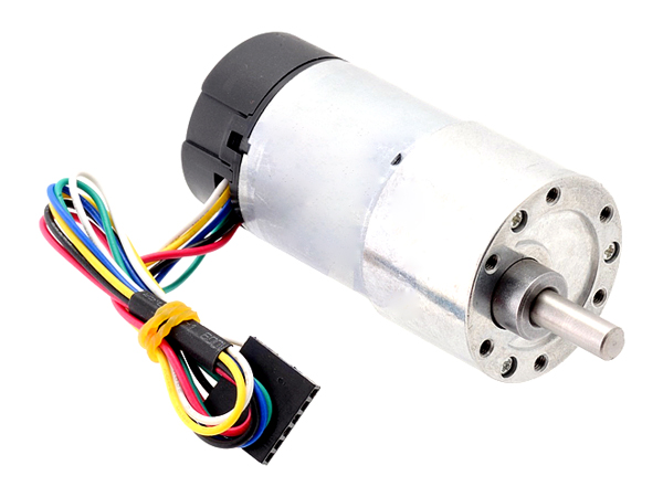 19:1 Metal Gearmotor 37Dx68L mm with 64 CPR Encoder
