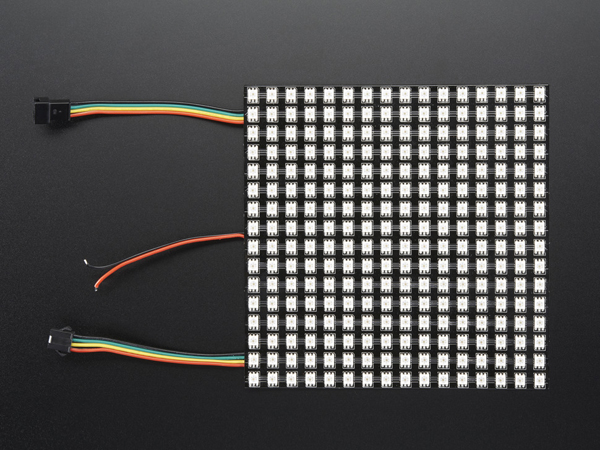 Flexible Adafruit DotStar Matrix 16x16 - 256 RGB LED Pixels [ada-2735]