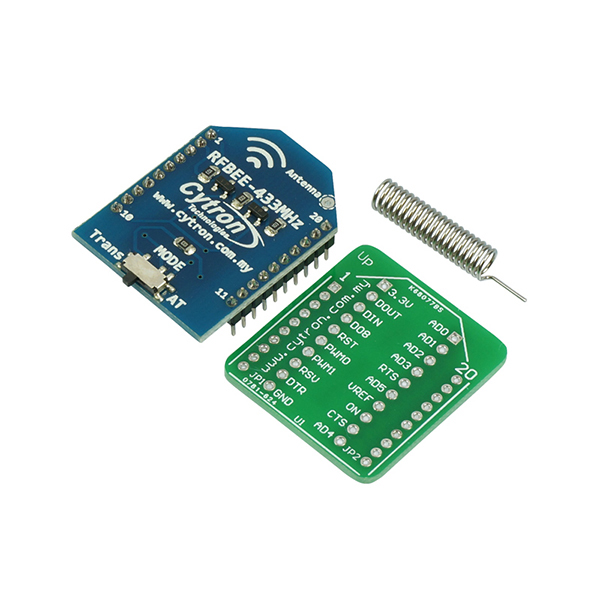 RFBee 433MHz UART Wireless Module (1km)