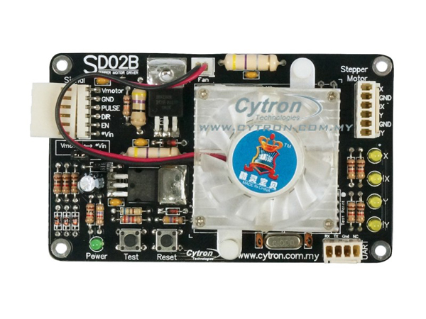 Enhanced 2A Stepper Motor Driver