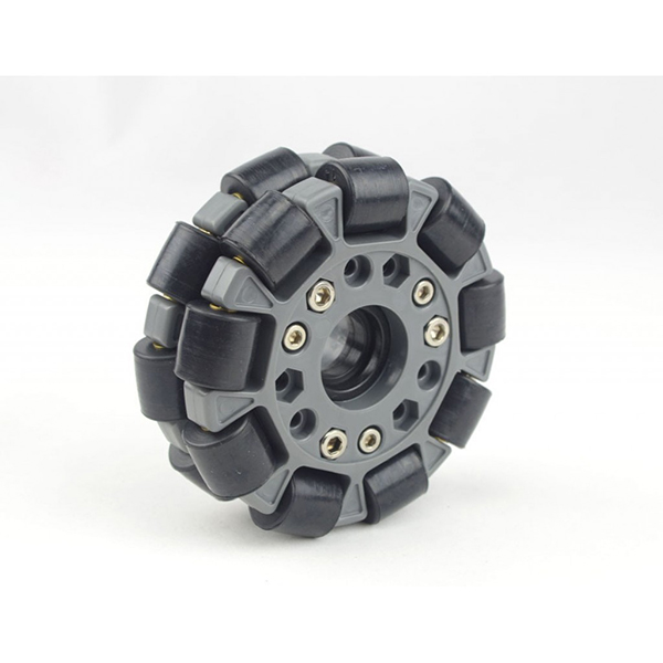 100mm Double Plastic Omni Wheel w/bearing rollers [NX-14041]