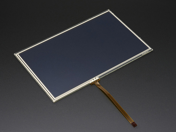 Resistive Touchscreen Overlay - 7' diag. 165mm x 105mm - 4 Wire [ada-1676]