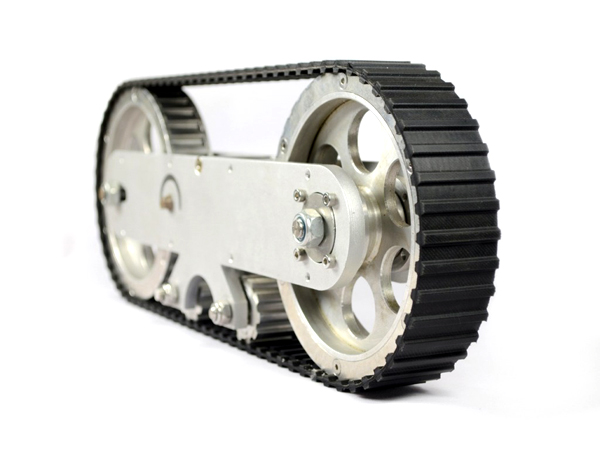 A SET OF LARGE TRACKED WHEELS(TANK WHEEL) 2 PIECES [NX-14152]
