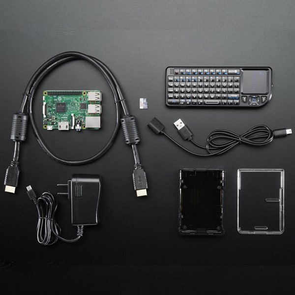 Raspberry Pi Media Center Kit - for Pi 2 or Pi 3 - Includes Pi 3 [ada-3158]