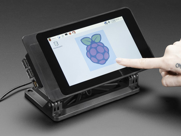 SmartiPi Touch - Stand for Raspberry Pi 7' Touchscreen Display [ada-3187]