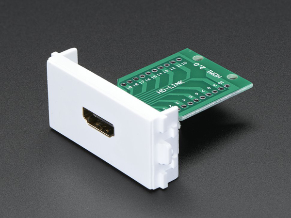 Panel Mount HDMI Socket Breakout [ada-3121]