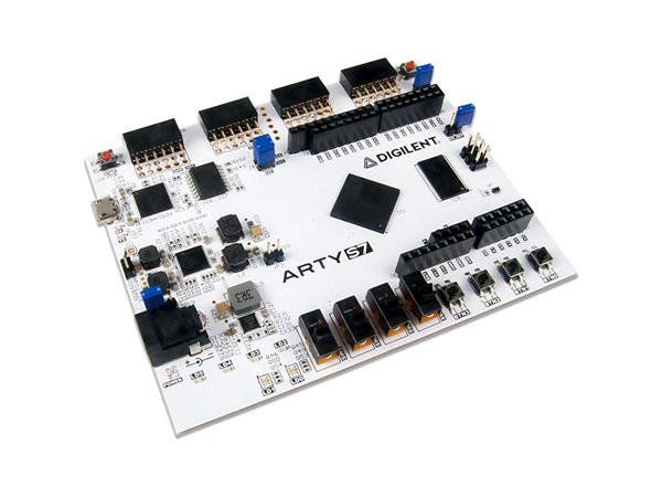 Arty S7: Spartan-7 FPGA Board for Makers and Hobbyists