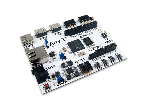 Arty Z7-20: All Programmable SoC Zynq-7000 Z70-20 Development Platform for Embedded Vision